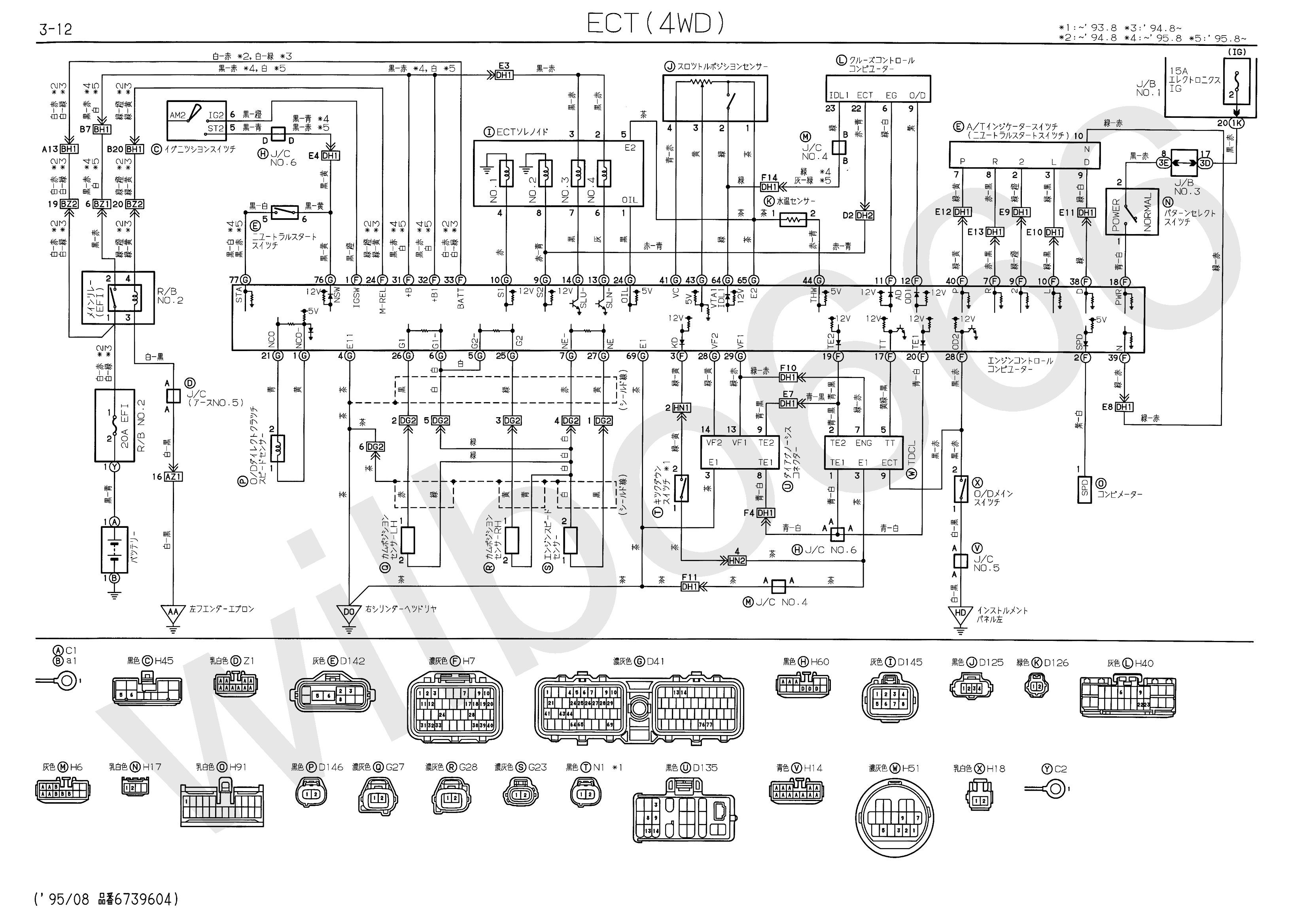 1uz fe engine wiring diagram