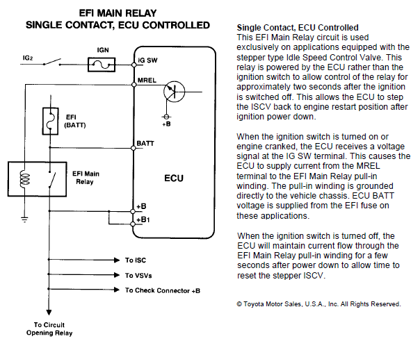 Wilbo666 Mrel 6 Wire Idle Speed Control Valve Iscv Wiring. The Below Diagrams Shows How System Is Wired. Toyota. Toyota Ingnition Wiring Diagram 6 Wire At Eloancard.info