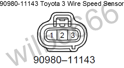 wilbo666 toyota speed sensors3 wire speed sensor
