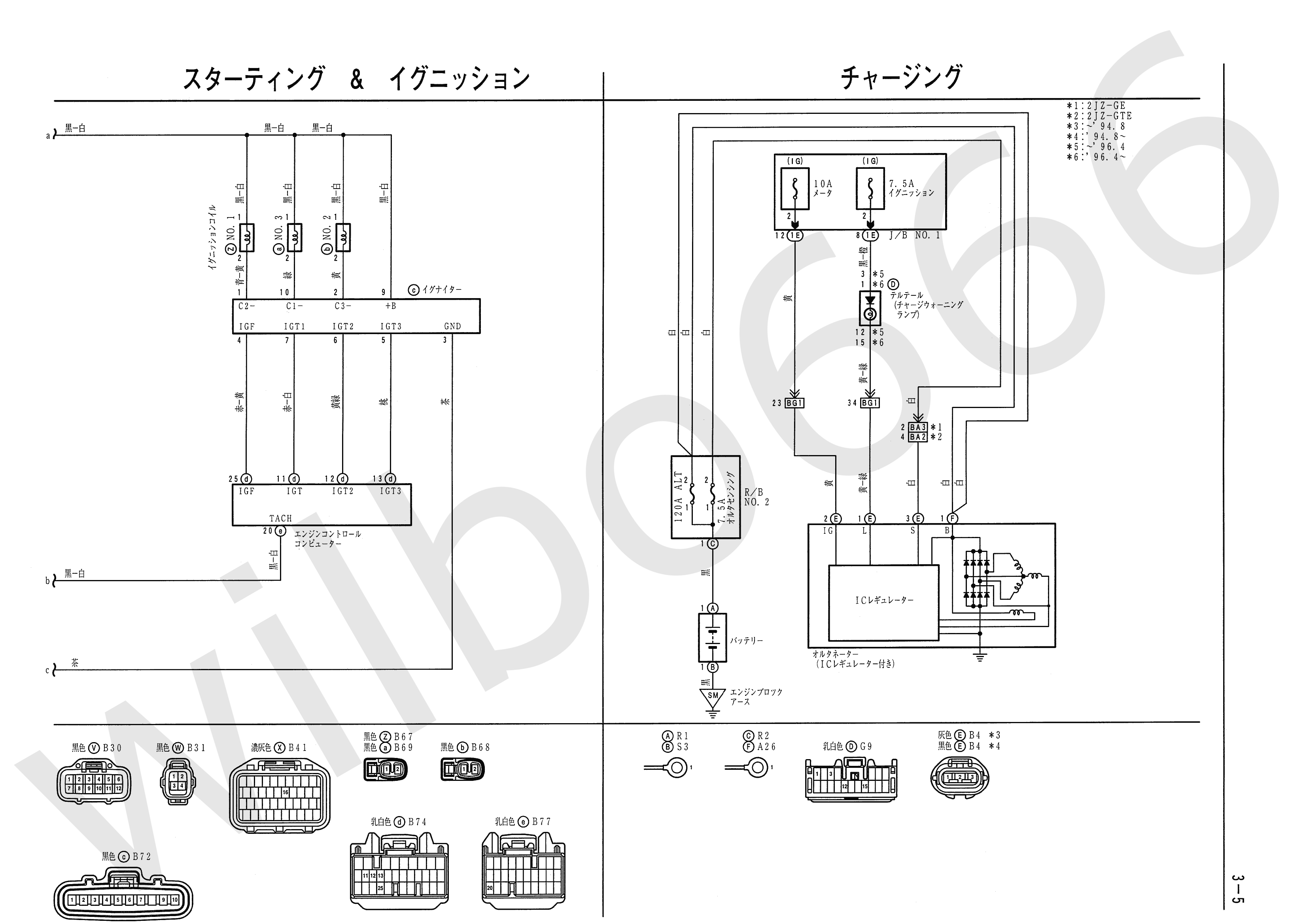 JZA80 Electrical Wiring Diagram 6742505 3 5 wilbo666 2jz gte vvti jza80 supra engine wiring 2jz wiring diagram at gsmportal.co