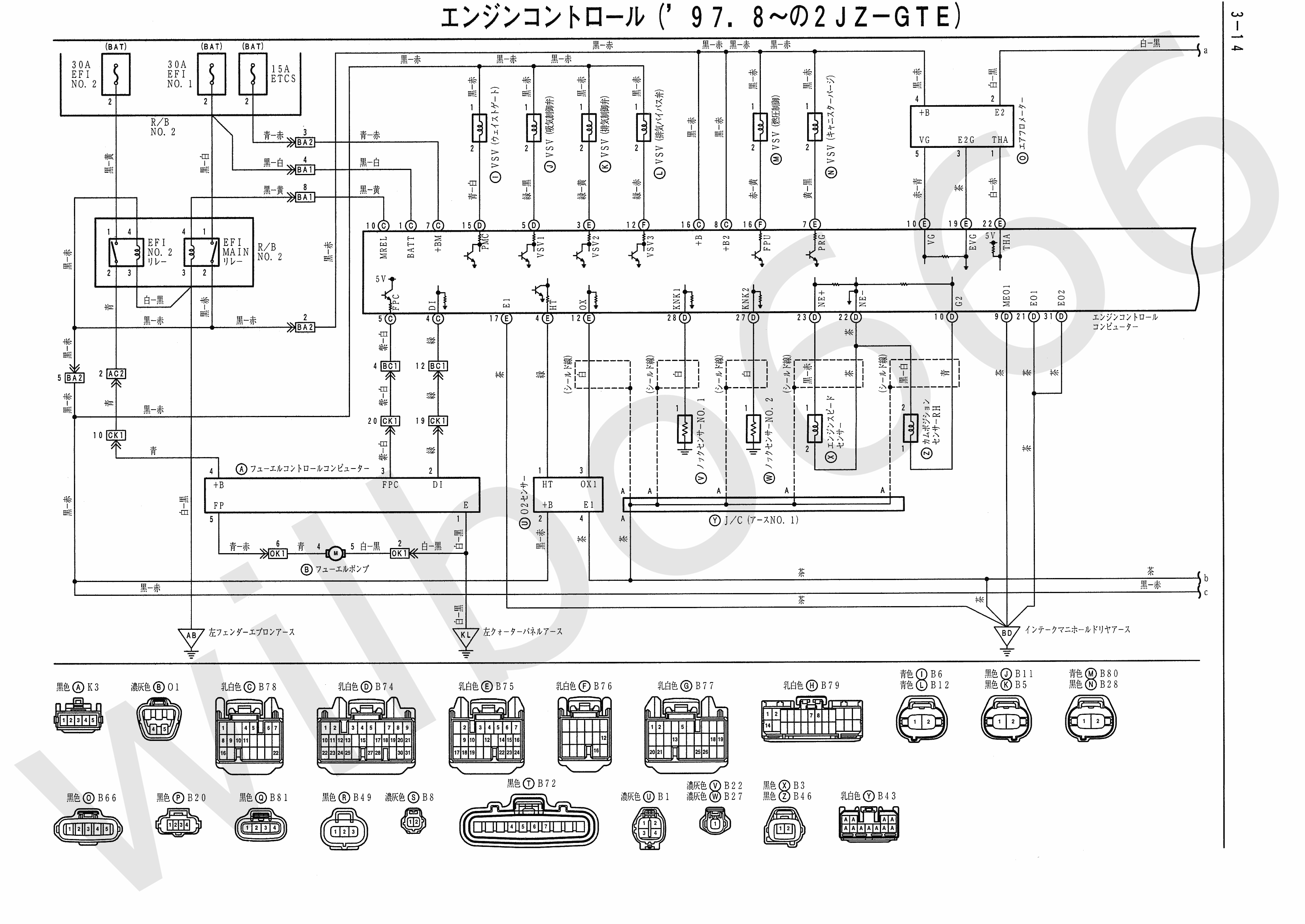 JZA80 Electrical Wiring Diagram 6742505 3 14 wilbo666 2jz gte vvti jza80 supra engine wiring 2jz wiring diagram at gsmportal.co