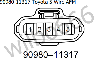 toyota maf sensor wiring wiring diagram rows wilbo666 toyota air flow sensors toyota maf sensor wiring diagram caution there are at least two
