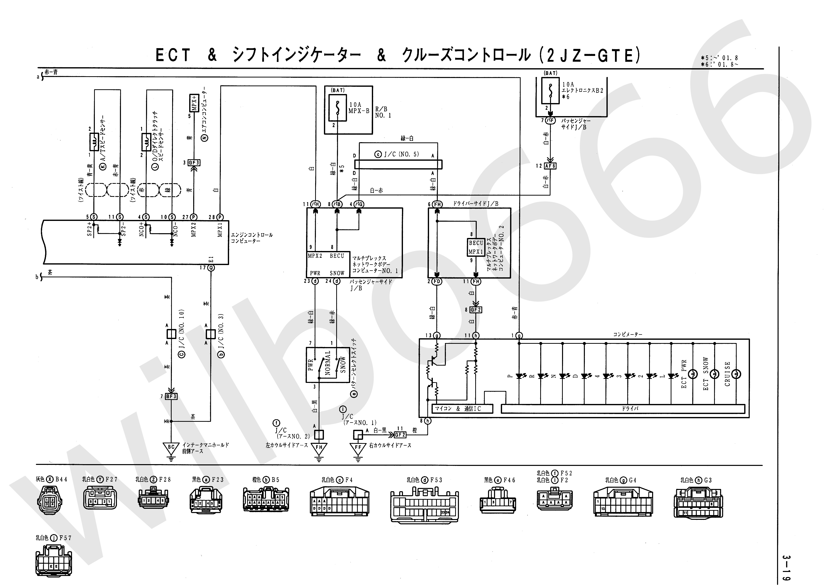 JZS161 Electrical Wiring Diagram 6748505 3 19 wilbo666 2jz gte vvti jzs161 aristo engine wiring 2jz wiring diagram at gsmportal.co