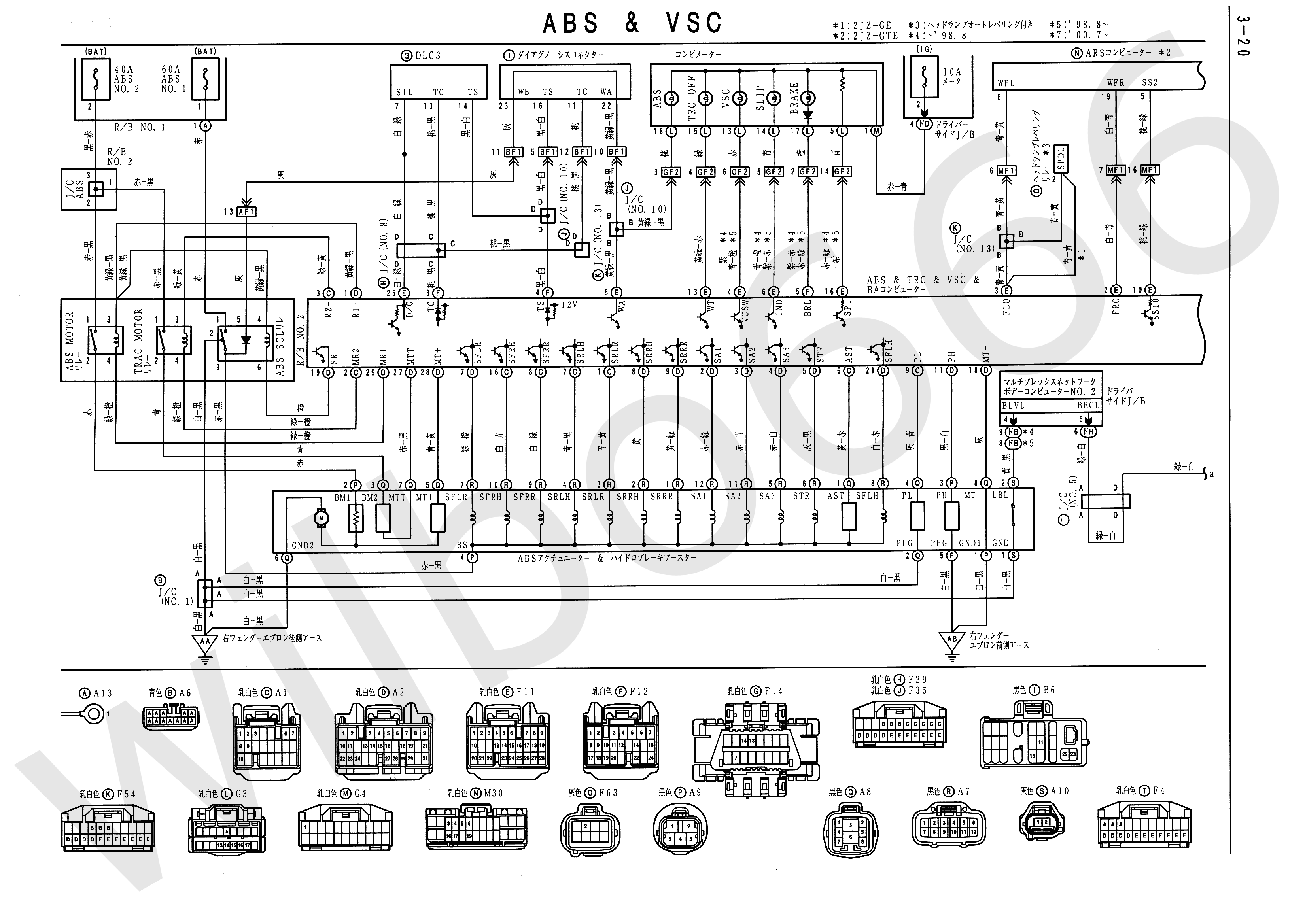1jz Engine Sensor Diagram Books Of Wiring Avalon Harness Toyota 2000 Vvt Location Free