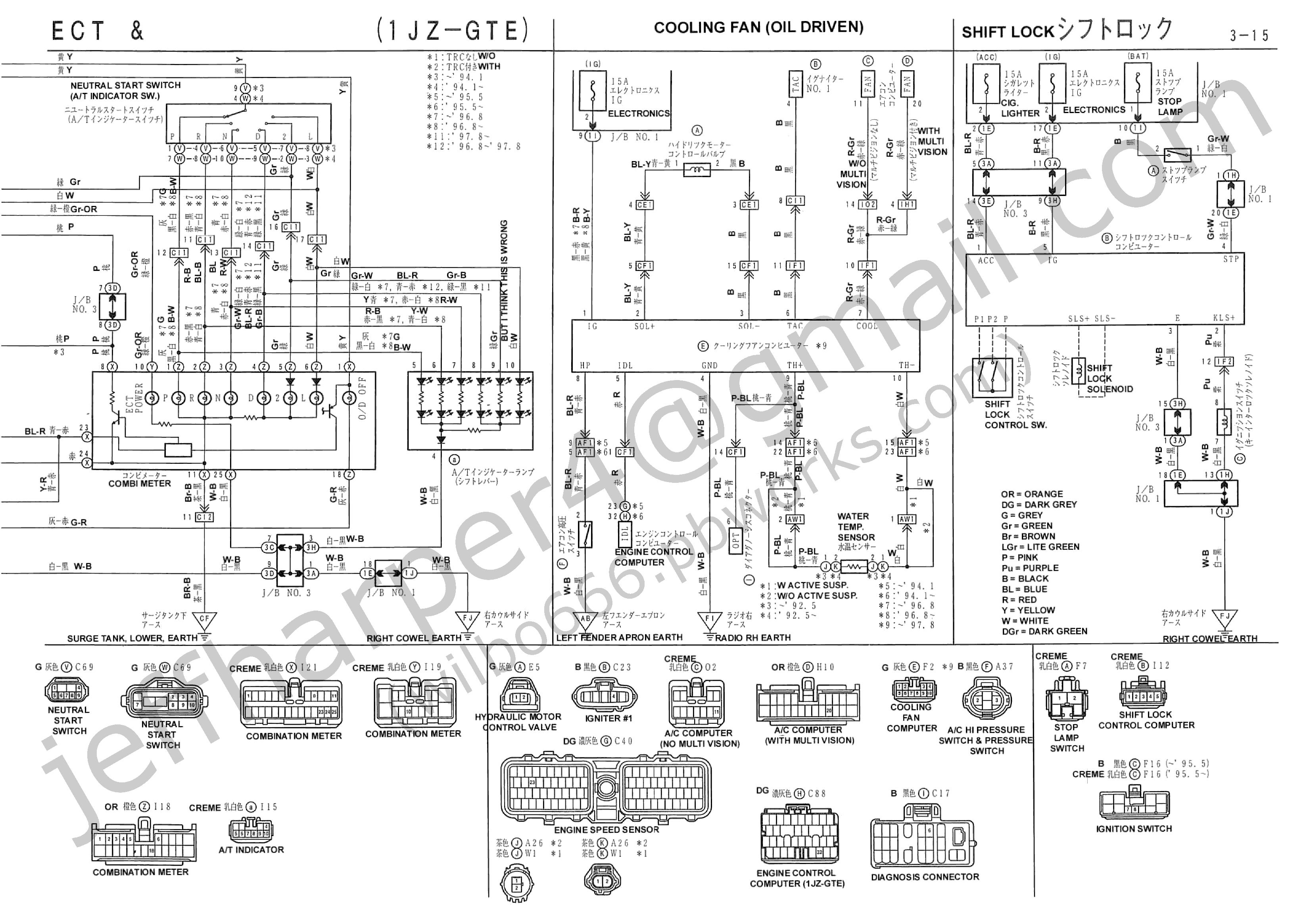 Wiring Diagram 2jz Gte