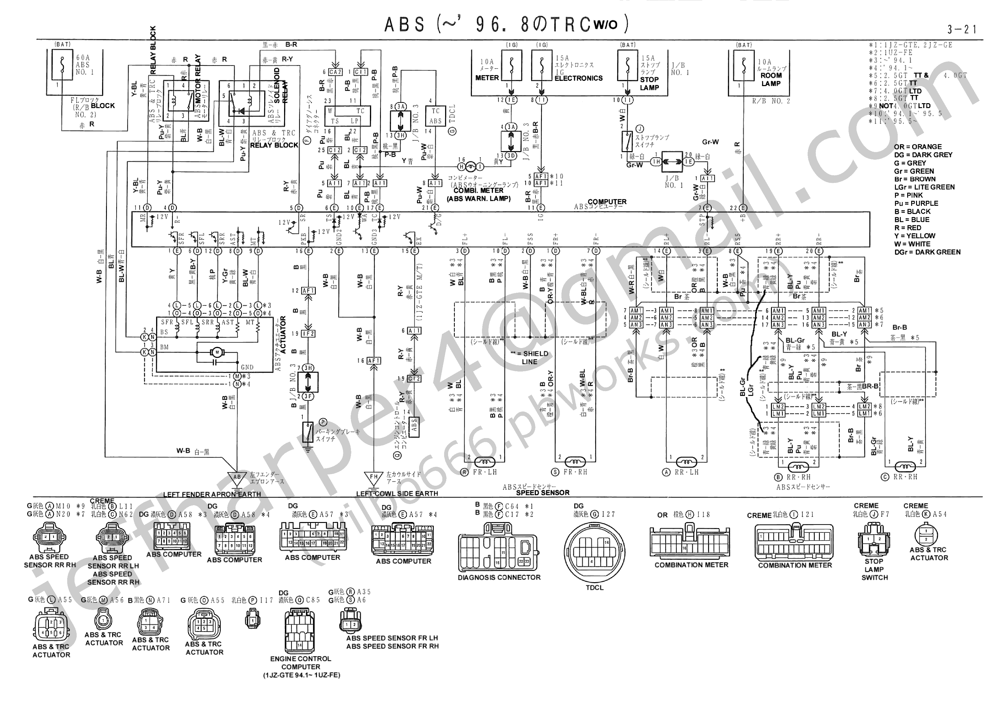 Diagram Besides 1996 Lexus Ls400 Wiring Diagram Plug Besides Lexus