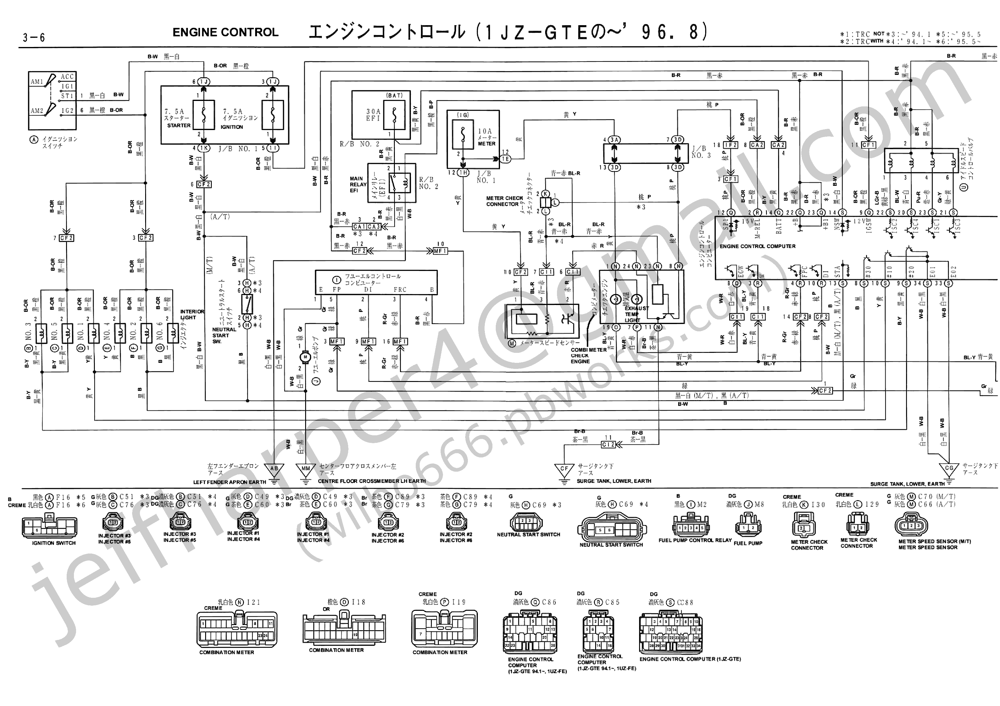 691463 Abs Sensor Speedometer Not Working 95 A on wiring diagram toyota corolla