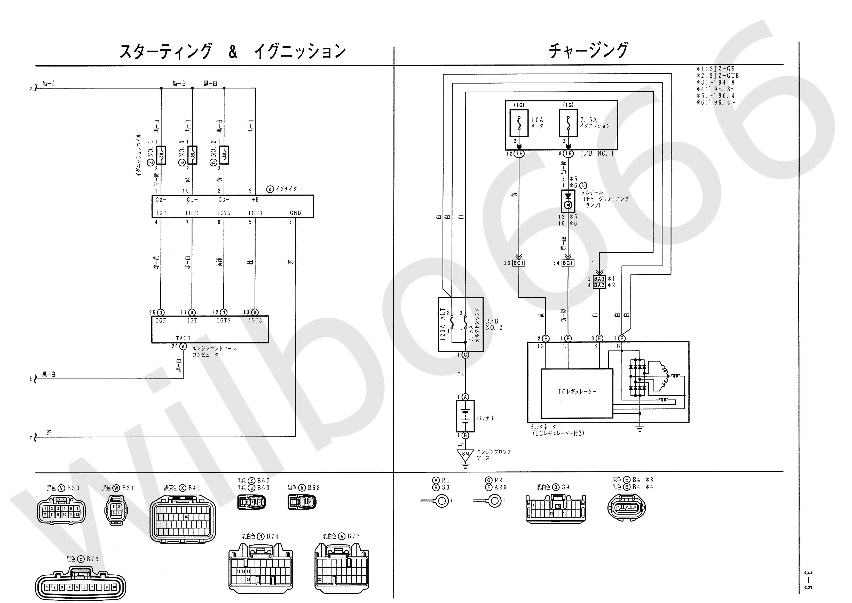 Wilbo666 2jz Ge Jza80 Supra Engine Wiring Honda Civic Intake Manifold Toyota Diagrams