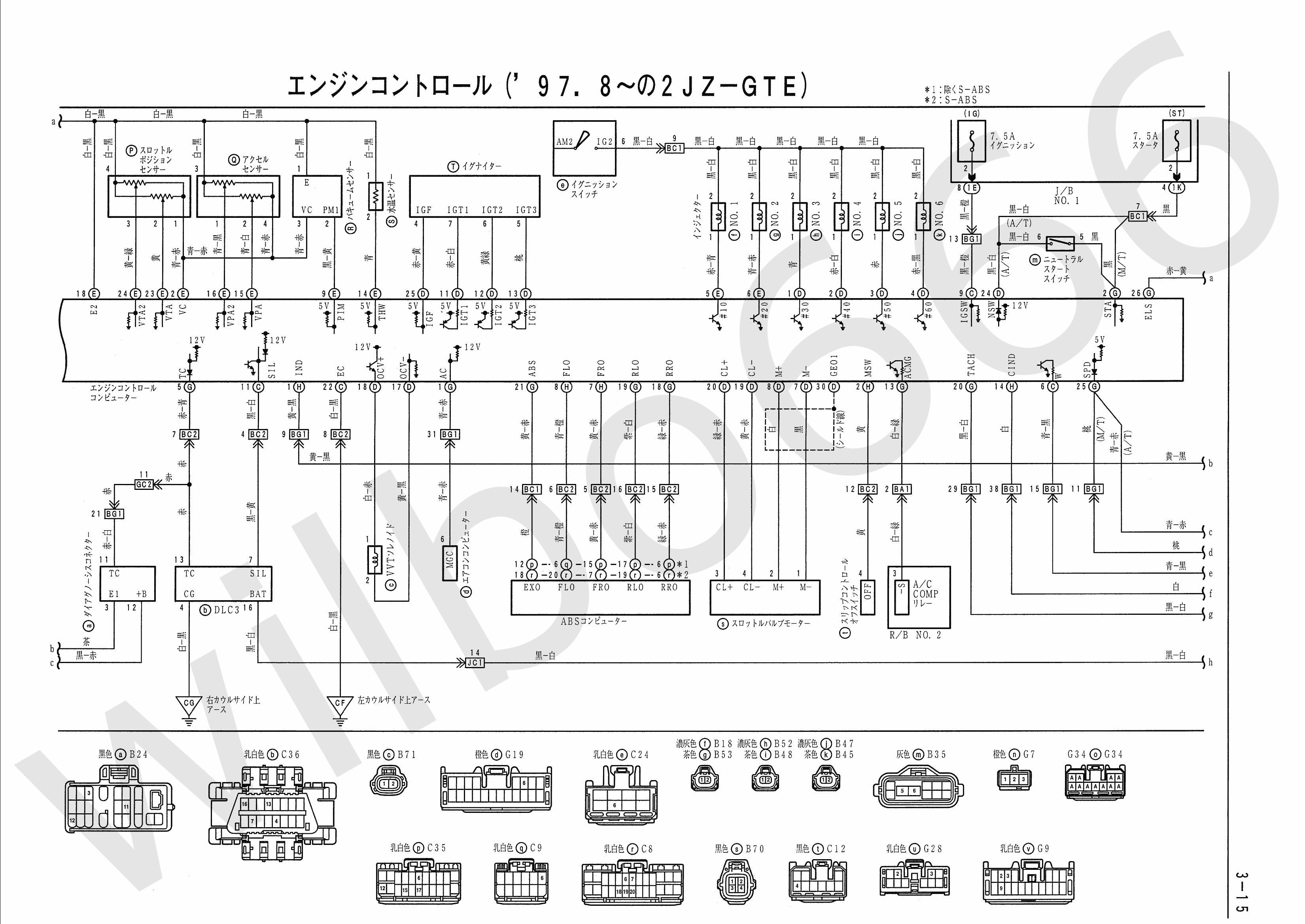 Wiring Diagram Motor Honda Supra : Wilbo jz gte vvti jza supra engine wiring