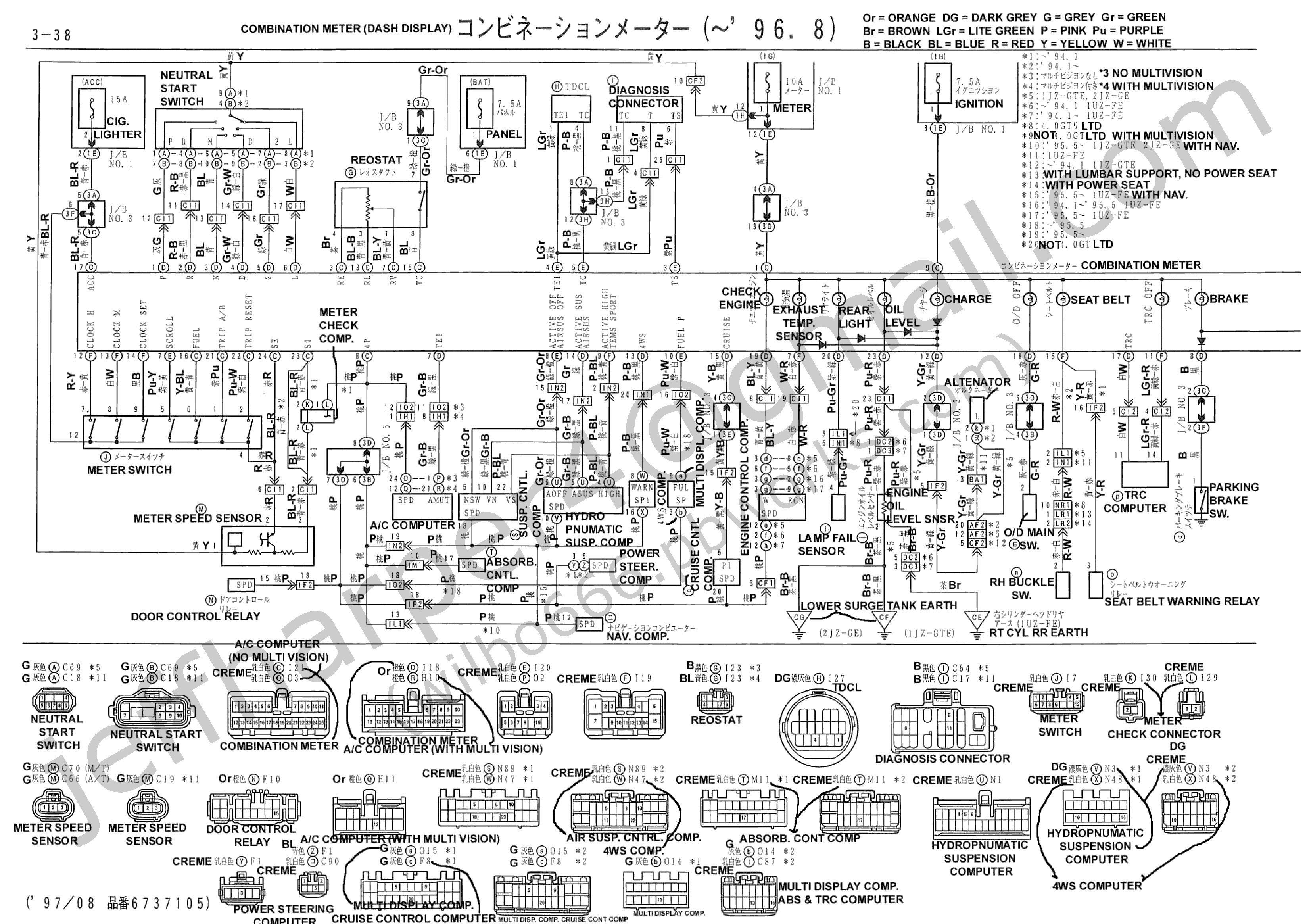 1jz engine diagram wilbo666 / 1jz-gte jzz30 soarer engine wiring 1jz sensor diagram