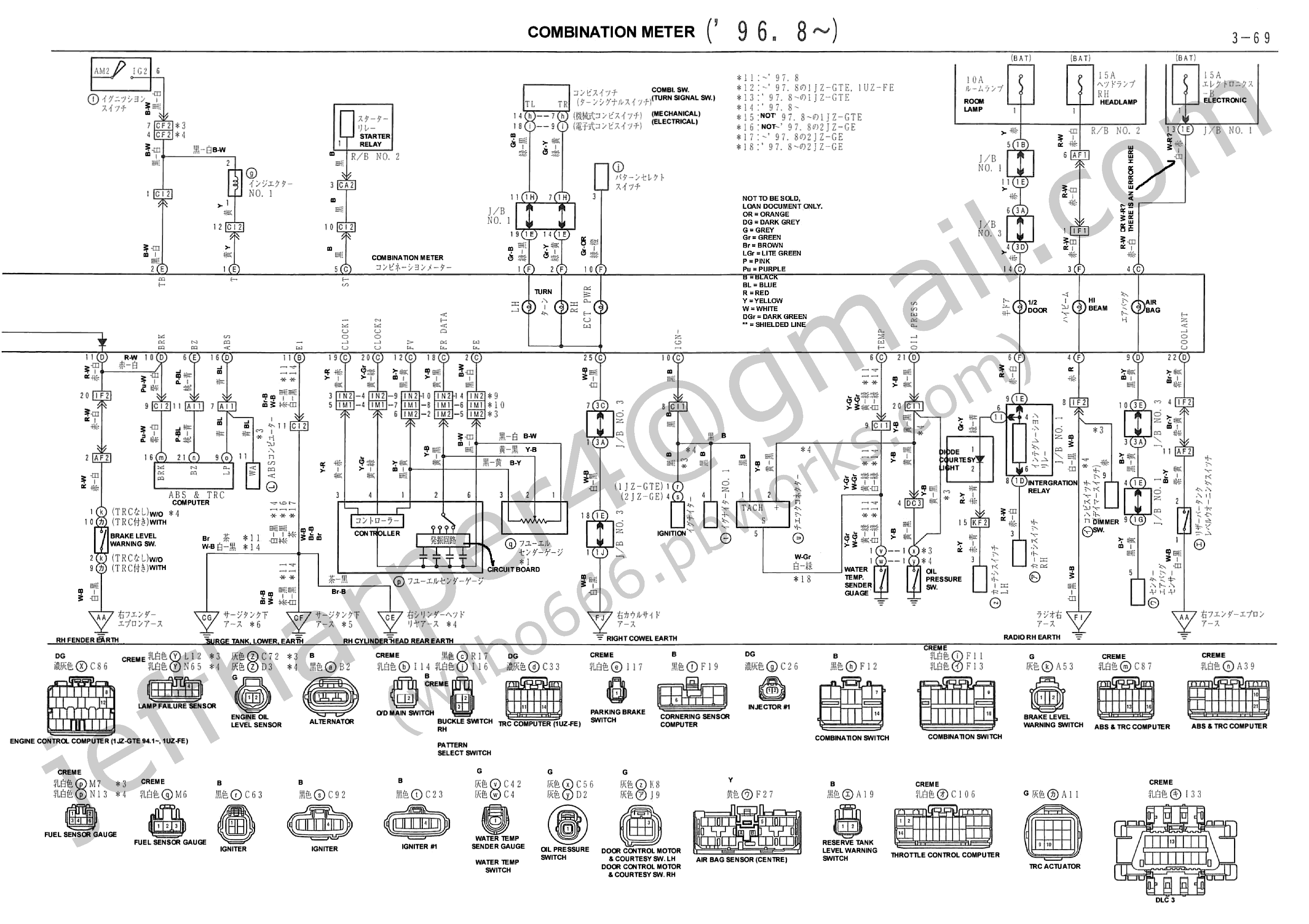 1jz ignition diagram wilbo666 / 1jz-gte jzz30 soarer engine wiring 1jz engine diagram